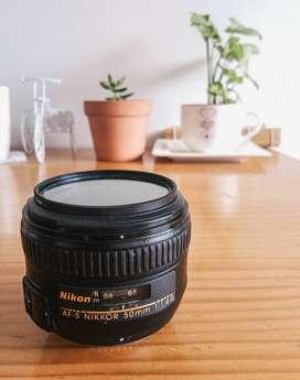 Nikon LENTES primarios 1.4G 50mm