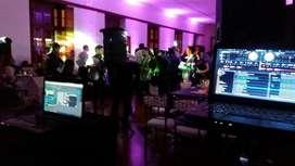 Disco Movil Amplificación Iluminación Qsc Jbl Pionner Rcf
