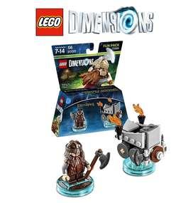 LEGO Dimensions Gimli, El Señor de los Anillos – 56 Piezas.