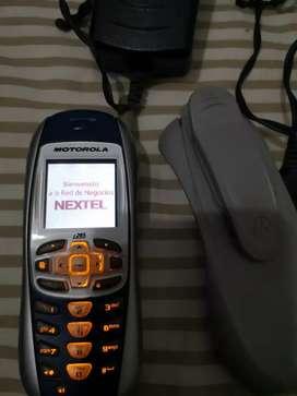 Motorola Nextel i265 equipo completo todo Original coleccionable en venta