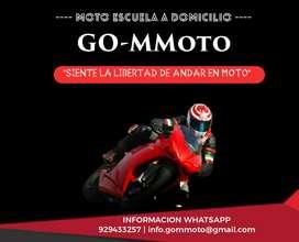 Clases Manejo Moto Lineal Moto Escuela G