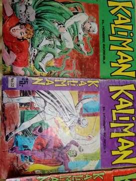 Vendo revistas de Kaliman