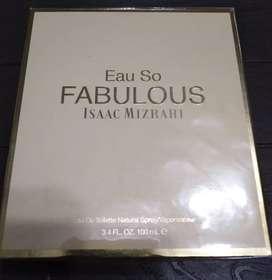 PROMO NAVIDEÑA. Perfume Eau So FABULOUS de Isaac Mizrahi de 100 ml. Para Mujer. 100% Original