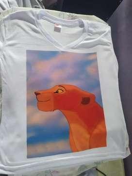 Camiseta estampada Rey Leon