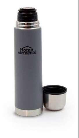 Termo Exclusivo Home Elements Acero Inoxidable Doble Pared