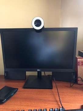 Vendo monitor LED LG 19.5 pulgadas