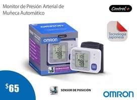TENSIOMETRO-MONITOR DE PRESIÓN ARTERIAL DE MUÑECA AUTOMÁTICO OMRON CONTROL PLUS HEM-6131
