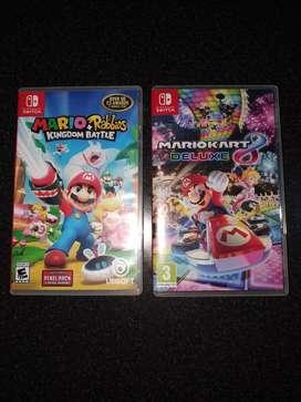 Juegos Nintendo Switch Especiales (leer detalles)