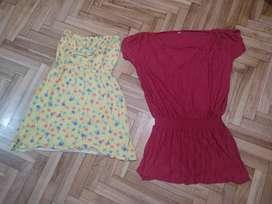 2 vestidos talle S los 2 x  $220