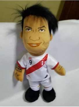 Peluche Muñeco Guerreo Selección Perú Bolsa Regalo