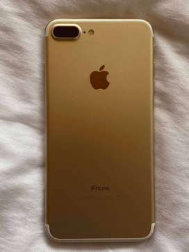 Vendo Iphone 7 Plus Dorado