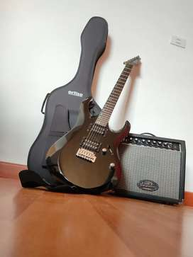 Combo Guitarra Eléctrica + forro & Amplificador