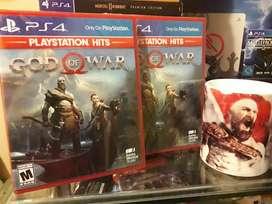 God of War 4 Nuevos Sellados