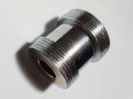 Adaptador niple de llave derivadora Drago Prince Ellen p/ Canilla Rosca Ø24mm