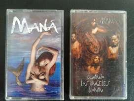 Casettes Mana Originales los dos x 100000