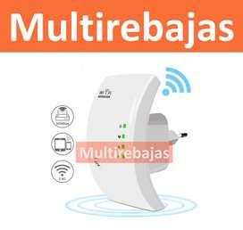 Repetidor Wifi Enchufe Plano Amplificador Señal de facil uso
