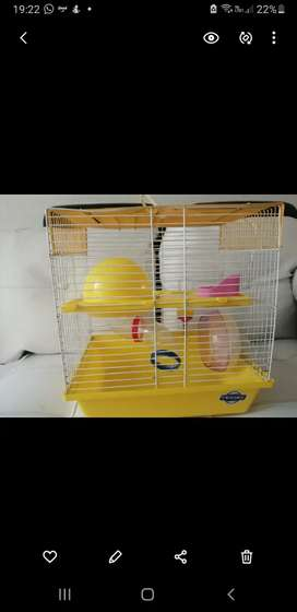 Vendo Jaula para Hamsters