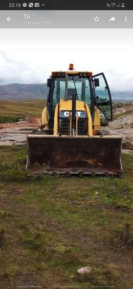 Venta de retro excavadora 420f 2014