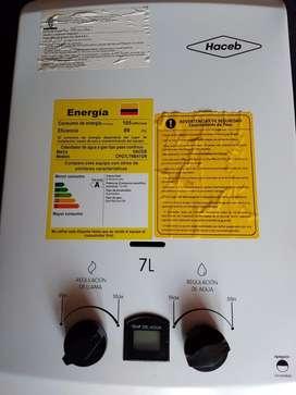 Calentador a Gas 7 lts (HACEB)