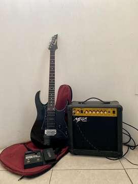 Guitarra Ibanez con todo incluido