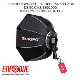 Sofbox para flash de 90cm nikon canon
