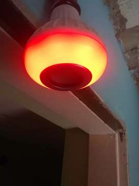 Lámparas Bluethoot con parlantes