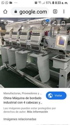 Operador/a maquina de bordar industrial