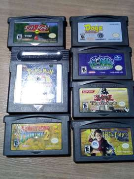 Cartuchos de nintendo game boy