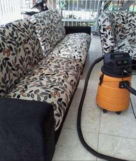 lavado de muebles, colchones, somier, comedor, tapetes y perciana.