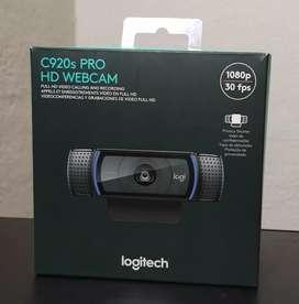 Cámara Logitech C920s Pro HD