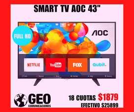 nuevo TV LED SMART 43 PULGADAS