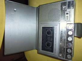 grabadora BELTEK antigua tipo agenda funcionando
