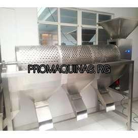 Máquina clasificadora de granos de cacao