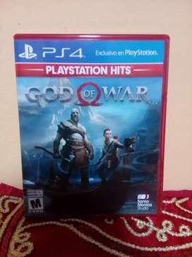 Videojuego God Of War PS4