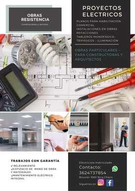 Planos y instalaciones eléctricas