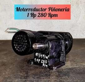 VENDO MOTORREDUCTOR DE PIÑONES 1 HP 280 RPM TRIFASICO