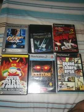 Juegos play 2 originales ps2