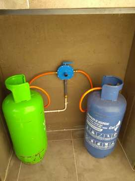Construcción de redes internas de gas