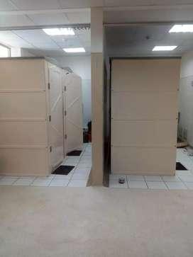 Cabinas portátil de baños y duchas