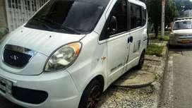 Vendo camioneta Chery van pass en muy buen estado con trabajo fijo