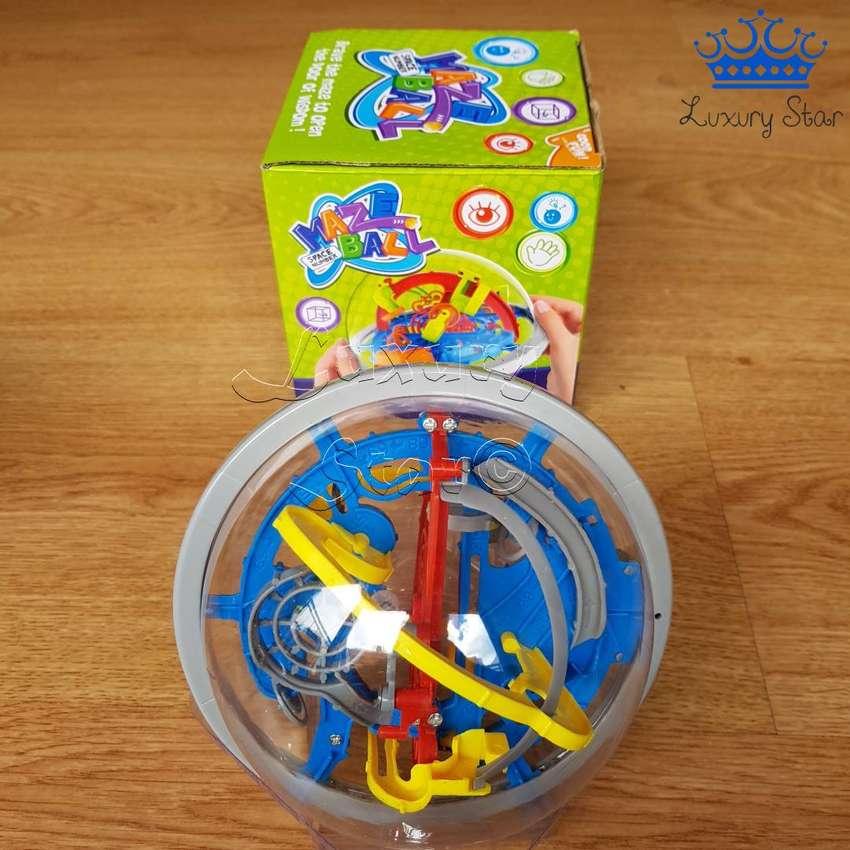 Laberinto Bola Mini Esfera Puzzle Rubik 12cm Rompecabezas