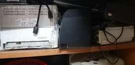 Impresoras para repuestos (1und  HP 2014 - 1 und HP 1102 )