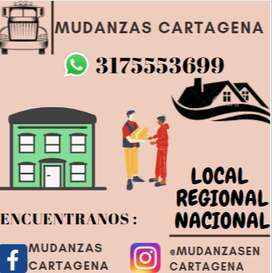 Mudanzas Cartagena local y nacional