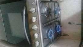 Estufa HACEB 4 boquillas con horno