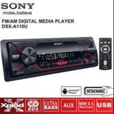 Radio Para Carro Sony Dsx-a110u Con Usb Extra Bass Nuevo Garantia scp1