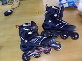 Patines color negro