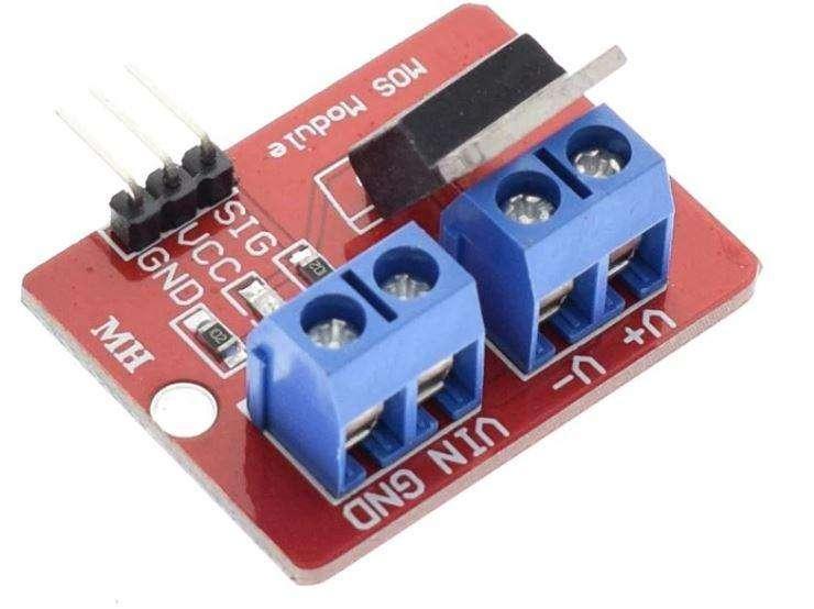 Mosfet IRF520 Arduino x5 und. 0