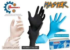 Guantes Nitrilo Master, Examinacion, Medico, Alimento