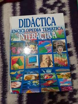 Enciclopedia y tres tomos de diccionarios