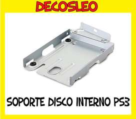 Soporte De Disco Rigido Ps3 Super Slim 12gb CARRY DISC * Leo